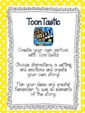 ToonTastic iPad activities