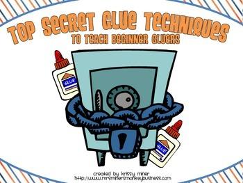 Top Secret Gluing Techniques for Beginning Gluers