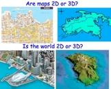 Topographic Maps - Lesson Presentations, Lab Experiments &