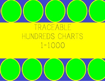 Traceable 100's charts