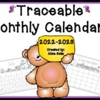Traceable Monthly Calendars 2015-2016