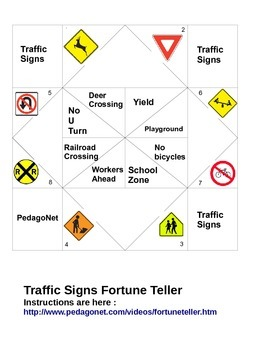Traffic Signs Fortune Teller