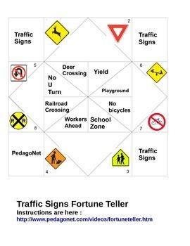 Traffic Signs Fortune Teller