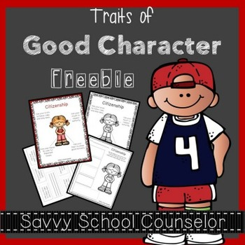 Traits of Good Character - Citizenship