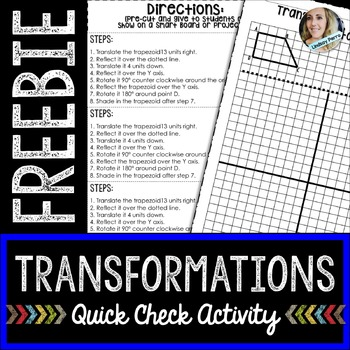 Transformations Practice