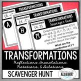 Transformations: Scavenger Hunt