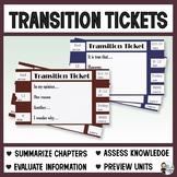 Transition Tickets