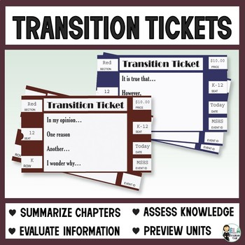 Transition Tickets