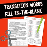 Transition Words Fill-in-the-Blank