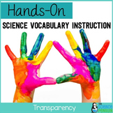 Transparency Vocabulary Lesson