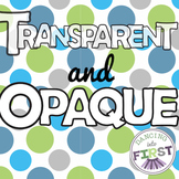 Transparent Opaque Centers and Activities