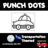 Fine Motor Transportation Dot or Poke Clip Art for Fine Mo