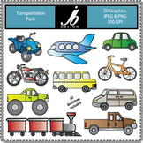 Transportation (JB Design Clip Art for Commercial and Pers