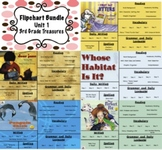 Treasures Reading 3rd Grade Unit 1 Flipcharts Bundle