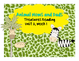 Treasures Reading Resources Unit 2, Week 1 (Animal Moms and Dads)