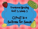 Treasures Reading Resources Unit 5, Week 5 (A Fruit)