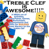 Treble Clef is AWESOME!!  A MEGA Set of Building Activitie