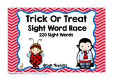 Trick Or Treat Halloween Dolch Sight Word Race