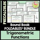 Trigonometric Functions FOLDABLES (Unit 4) Bundle