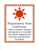Trigonometry Facts Game
