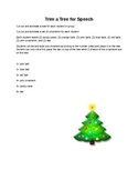 Trim a Tree for Speech Articulation