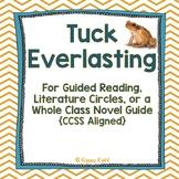Tuck Everlasting Novel Guide {Common Core Aligned}