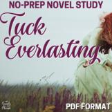 Tuck Everlasting Literature Guide: Common Core Aligned Tea
