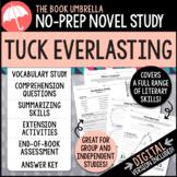 Tuck Everlasting Novel Study - Natalie Babbitt
