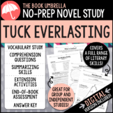 Tuck Everlasting Novel Study - Natalie Babbitt