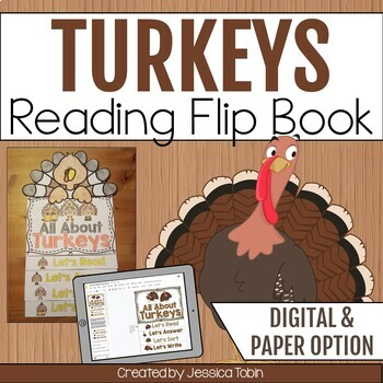 Turkey Flip Book
