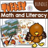 Turkey Kindergarten Math and Literacy Bundle