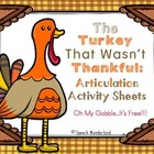 Turkey Talk Blog Hop...Oh My Gobble, It's FREE!