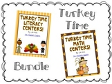Turkey Time Centers BUNDLE