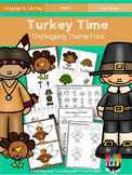 Turkey Time Thanksgiving Theme Pack