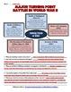 Turning Point Battles in World War II Worksheet