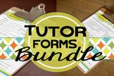 Tutor Forms: Bundle