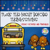 Twas the Night Before Thanksgiving Comprehension Game