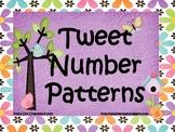 Tweet Number Patterns