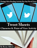 Tweet Sheet: Characterization/Point of View Activity for N