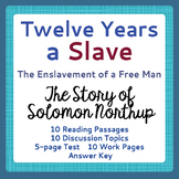 Slavery: Twelve Years a Slave - 10 Informational Text Pass