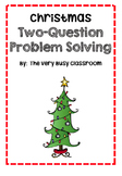 Two Step Christmas Word Problems