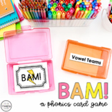 Two Vowels Go Walking AI, OA, EA, Word Game - BAM!