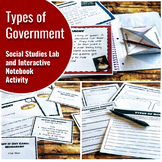 Types of Government: Interactive Notebook Activity and His