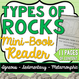 Types of Rocks Science Mini-Book - Earth Science