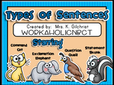Types of Sentences Smart Notebook Lesson