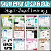 ULTIMATE Project Based Learning Math Pack for Upper Elementary