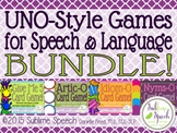 UNO-Style Speech & Language Games Mega Bundle