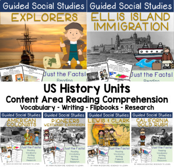 US History Bundle (5W's and How)