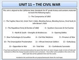 U.S. History - Civil War - Complete Unit