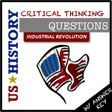 US History Questions: Industrial Revolution